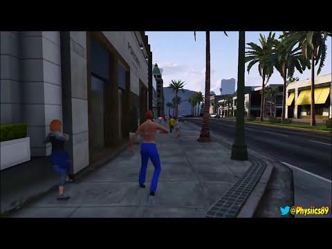 GTA 5 Mod Gravity & Explosive Melee Mod After 1.15!