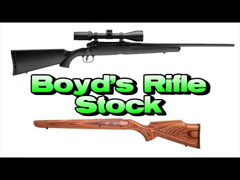 Boyd's Rifle Stock Review (Savage Axis)