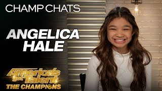 Angelica Hale Thanks Howie Mandel For Helping Her Make History - America's Got Talent: The Champions