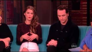 Matthew Rhys and Keri Russell - The View