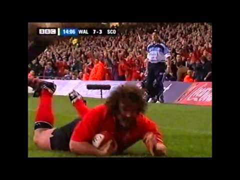Adam Jones' international tries
