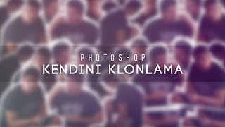 MertAga | Adobe Photoshop - Kendini Klonlama (Clone Yourself)