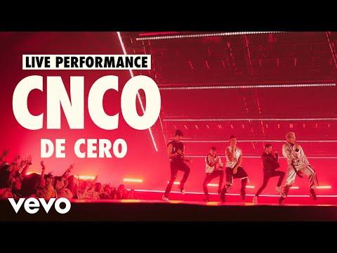CNCO - De Cero (Live) | Vevo LIFT Live Sessions