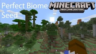 Minecraft Xbox/Playstation TU31 Seed Perfect Biome