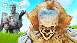 Pennywise FAILED to Scare Fortnite players