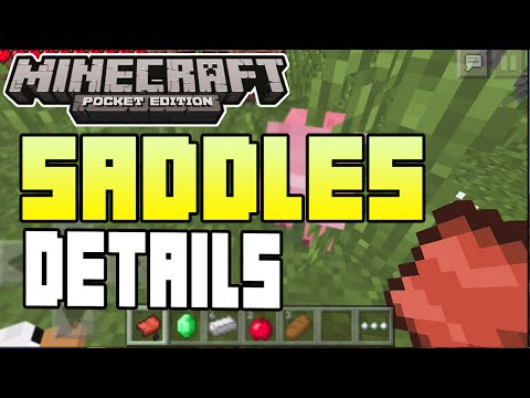 Minecraft Pocket Edition - 0.9.5 UPDATE! - SADDLES SEED + VILLAGES. EMERALD SEED + INFO!