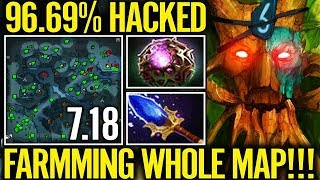 Hack Map On - Treant Protector Shine There Jungle Base and Free Farm Too 💪