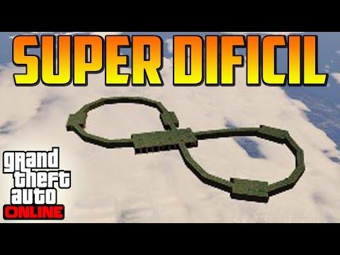 SÚPER DIFICIL!! EL OCHO IMPOSIBLE!! - Gameplay GTA 5 Online Funny Moments