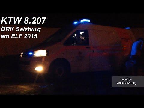 Einsatz für KTW 207 ÖRK am Electric Love Festival 2015
