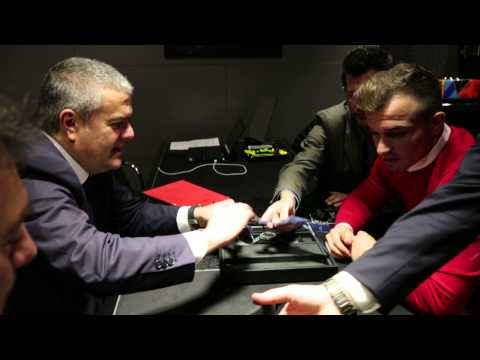 Hublot Baselworld 2015 - Great time with Xherdan Shaqiri
