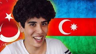 AZERBAYCAN KELİMELERİ ÖĞRENEN TÜRKLER !
