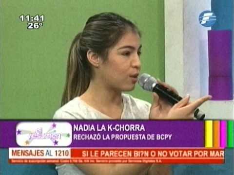 """Entrevista a Nadia """"La Kchorra"""" Portillo."""