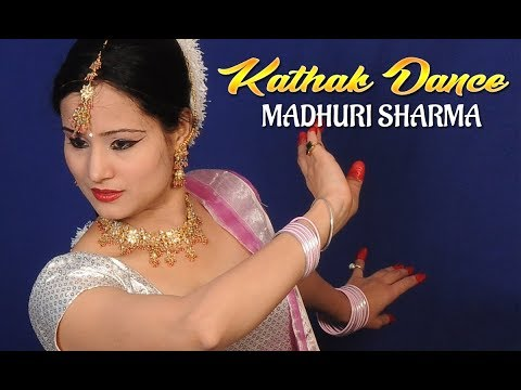 Madhuri Sharma Kathak Dance video