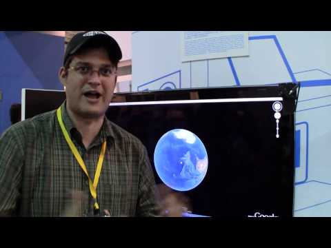 Turn your TV into a giant Touchscreen - ITRI at Display Taiwan 2011