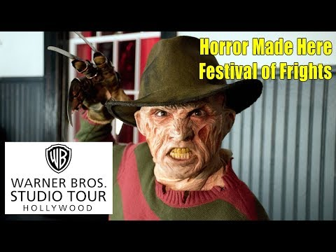 WB Studio Tour Horror Made Here Misc Clips 2017