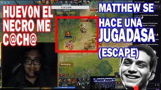 SUPER DOTA SMASH VS MATTHEW (TUSK) EL PROHIBIDO | DOTA 2 COSAS