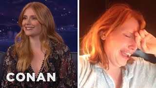 """Black Mirror"" Gave Bryce Dallas Howard A Nervous Breakdown  - CONAN on TBS"