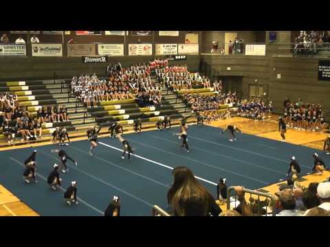 Desert Hills High School Cheer Teams - Nov. 2013