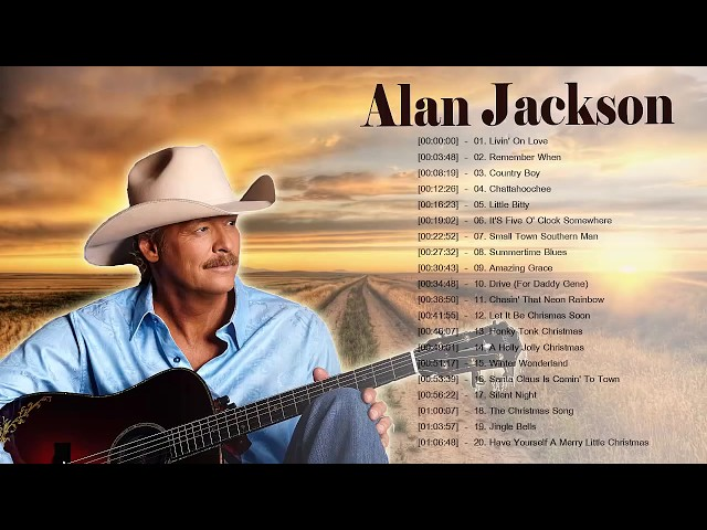 Alan JackSon Greatest Classic Country Songs  - Alan JackSon Best Country Music Of 60s 70s 80s 90s thumbnail