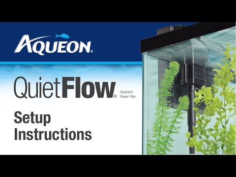 Aqueon QuietFlow Filter Setup