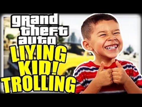 TROLLING LITTLE LYING KIDS ON GTA 5 ONLINE! (GTA 5 TROLLING)