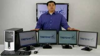 TRENDnet DIY_ Adding Monitors to Your Workstation TU2-DVIV