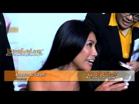 Anggun Hanya Berani Komentari Dhani di Sosmed