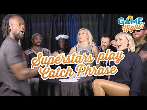 WWE Superstars play Catch Phrase: WWE Game Night