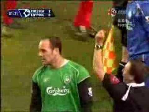 Pepe Reina vs Chelsea Scum