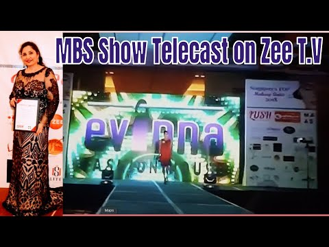 Fashion event held @Marina Bay Sands, program came in ZeeTv Asia Pacific