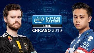 CS:GO - Team Liquid vs. Vitality [Overpass] Map 2 - Semi-Final - IEM Chicago 2019
