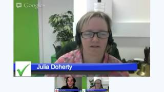 Ian Gentles & Julia Doherty talking Linkedin tips