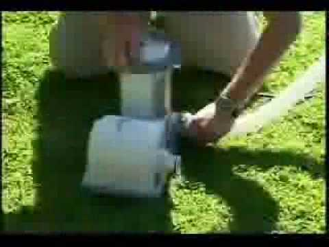 Intex 1500 gal/hr Filter Pump Model 635 Setup Guide