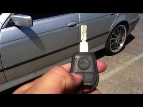 How To Roll Down Windows With Key Remote 1997-2000 BMW 5 SERIES E39 528I 525I 530I 540I M5