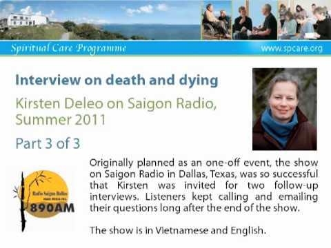 The Art of Dying - Kirsten Deleo on Saigon Radio 3 of 3