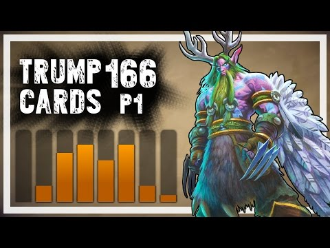 Hearthstone: Trump Cards - 166 - Part 1: Diversity (druid Arena) video