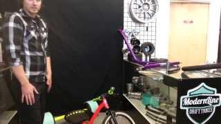 modernline drift trike review ---- closer look complete trike