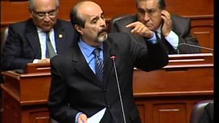 Intervención del Cong. Mulder en el Pleno - Voto de Confianza Gabinete