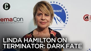 Terminator: Dark Fate | Linda Hamilton Interview