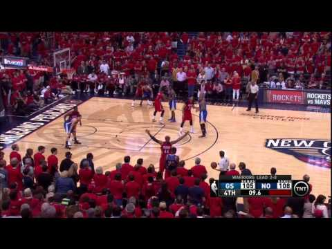 Stephen Curry sends Game 3 vs Pelicans to OT with two 3-pointers 4-23-15