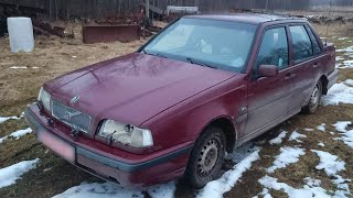 Volvo 460 Starting After 2 Years (1080p)
