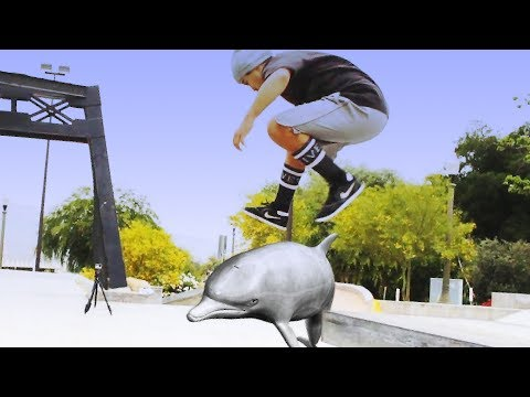 5-0 GRIND DOLPHIN FLIP OUT!!!