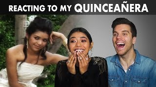 GERMAN BOYFRIEND REACTS TO MY QUINCEAÑOS!!