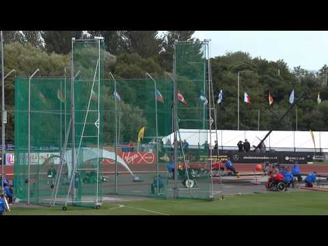Men's Discus F | Ipc Athletics European Championships Swansea