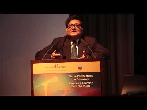 Sugata Mitra: Lessons from an Indian Slum (Houston A+ Speaker Series)