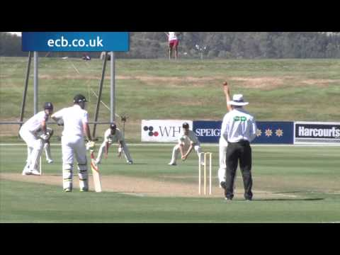 Highlights of Ian Bell's ton in Queenstown