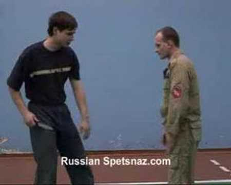 Systema Spetsnaz-Self Defense - Knife attack DVD Film Part Image 1