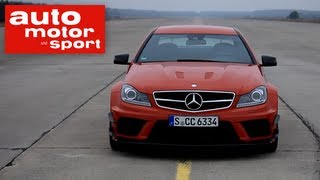 Einzeltest Mercedes C 63 AMG Coupé Black Series