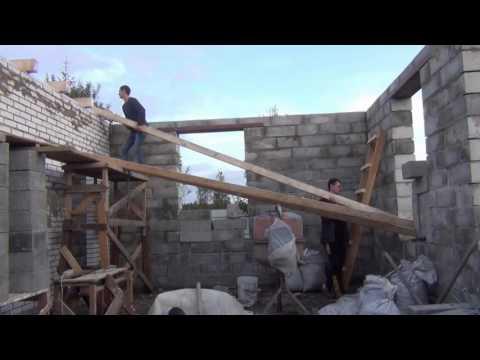 Как построить дом своими руками за пол года. - Vevopak