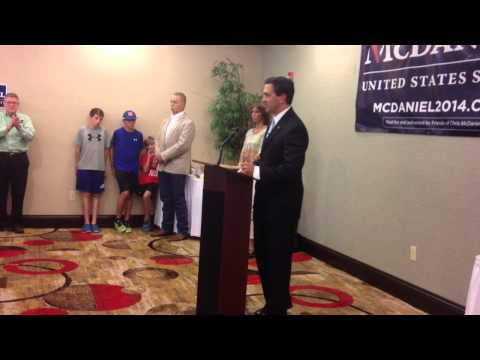 Chris McDaniel's Truth and Justice Tour rallies Tea Party supporters